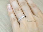 結婚指輪の表面加工デザイン