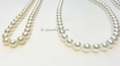 真珠ネックレス。