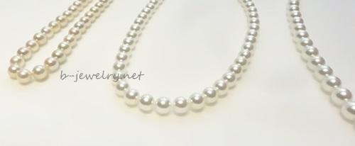 最高級品質のパールだから、長く使える格安で丈夫な真珠ネックレス。