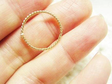 細い指輪の口コミ