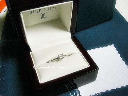 ブルーナイルダイヤの指輪の評判をレビューします。