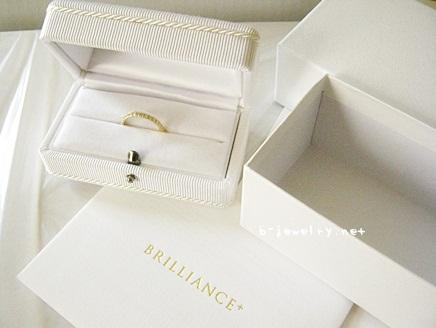 結婚指輪用のハーフエタニティリングの口コミを評価しています