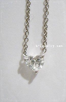翌日配送のクリスマスプレゼント向けハートシェイプダイヤモンドペンダントがおすすめ