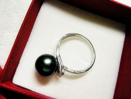 真珠のお土産でした。