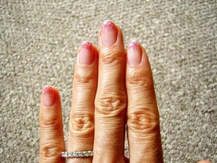 指輪とジェルネイルのコーディネイト