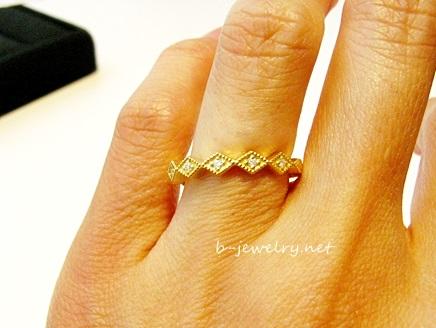 クラシックデザインの結婚指輪