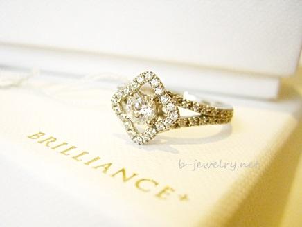ブリリアンス+の新しい婚約指輪デザイン2015です。