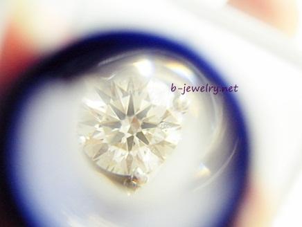 天然ダイヤモンドのハートアンドキューピッドのスコープ写真
