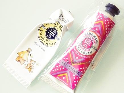 甘いバラの香りが評判の高いロクシタンのハンドクリームデザートローズの口コミ