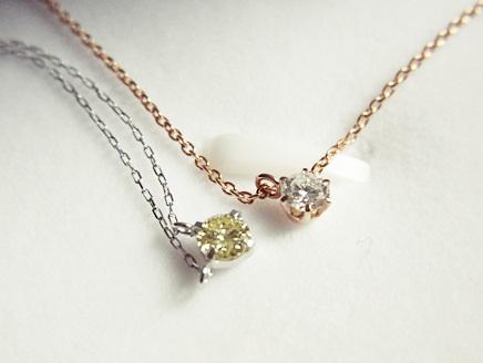 私が買ったブリリアンス+のダイヤモンドネックレス
