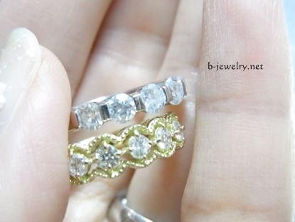 私はダイヤモンド選びは大きさ重視だよw