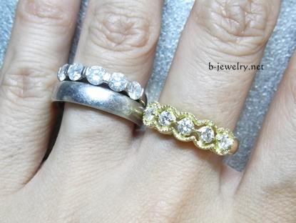 ダイヤモンドリングのデザインが見た目に与える影響と効果