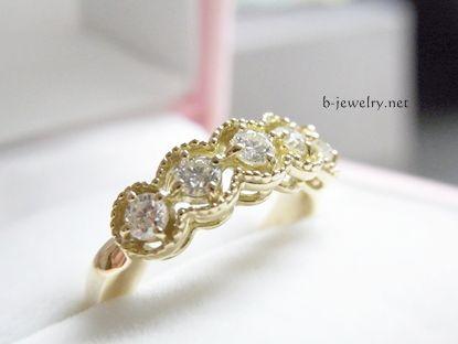 ダイヤモンドの研磨屋さんで買ったダイヤモンドリングの評判も