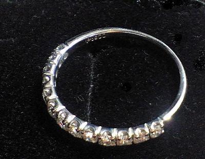 ハーフエタニティ結婚指輪の評価