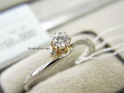 ニッセンエターナルの婚約指輪の写真