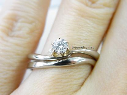 4万円台で選べるプラチナ婚約指輪