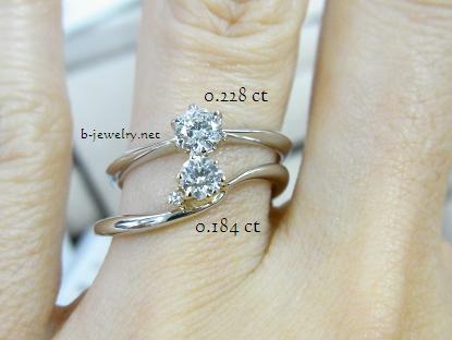 0.1カラット台のダイヤモンド婚約指輪ってどう?