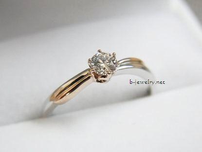 ニッセンエターナルのエンゲージリング、婚約指輪アフェット