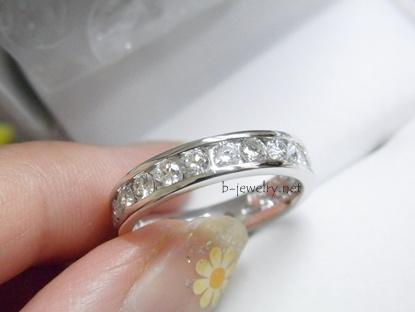ダイヤモンドリング。指輪を福袋で買いました