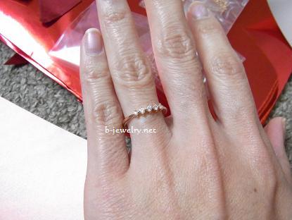 THE KISS福袋の指輪リング