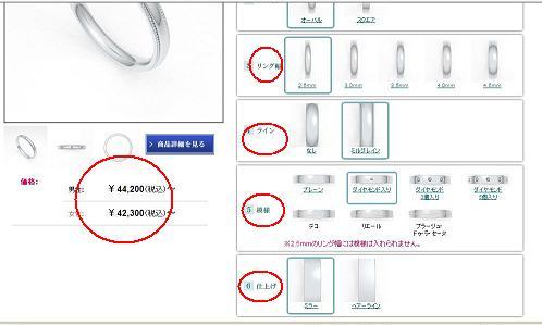 結婚指輪の値段