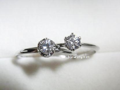 ダイヤモンドが大きく見えるダイヤモンドエンゲージリングのリングデザインの選び方