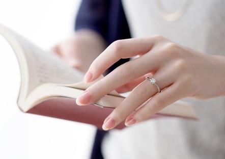 婚約指輪のサンプルリングの無料貸し出しできるジュエリーショップ。