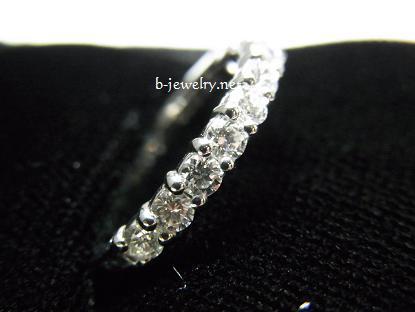スイートテンダイヤモンドリングを結婚10周年の記念にもらいました